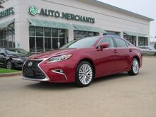 2017_Lexus_ES 350_Sedan LEATHER, NAVIGATION, BACKUP CAMERA, PUSH BUTTON START, POWER TRUNK, HTD STEERING WHEEL_ Plano TX