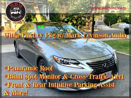 2017_Lexus_ES 350_w/ Ultra Luxury Package_ Arlington VA