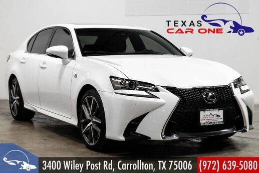 2017 Lexus GS 350 F-SPORT LEXUS SAFETY SYSTEM PLUS BLIND SPOT MONITORING INTUITIVE Carrollton TX