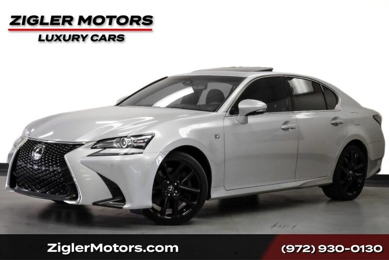 2017 Lexus GS GS 350 F Sport One Owner Clean Carfax Driver Assist Addison TX