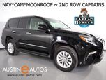 2017 Lexus GX 460 4WD Premium *NAVIGATION, BACKUP-CAMERA, BLIND SPOT ALERT, 2ND ROW CAPTAINS CHAIRS, LEATHER, MOONROOF, CLIMATE SEATS, BLUETOOTH PHONE & AUDIO