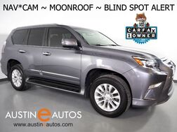 2017_Lexus_GX 460 4WD Premium_*NAVIGATION, BACKUP-CAMERA, BLIND SPOT ALERT, 2ND ROW CAPTAINS CHAIRS, LEATHER, MOONROOF, CLIMATE SEATS, BLUETOOTH PHONE & AUDIO_ Round Rock TX