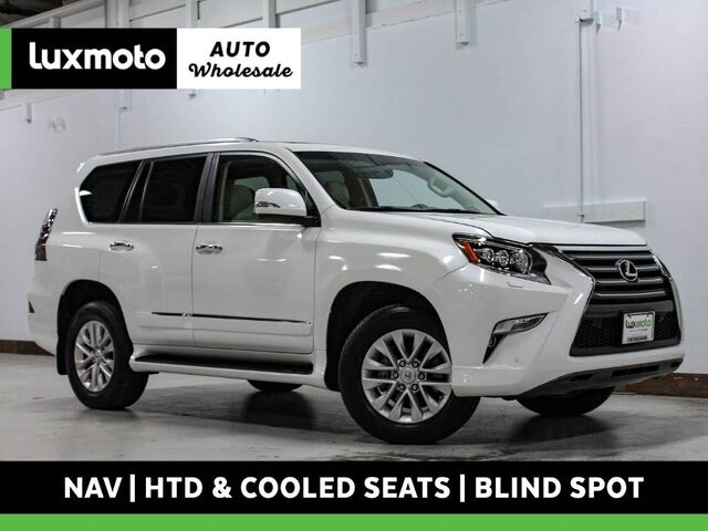 2017 Lexus GX 460 4WD Vented Seats Nav Blind Spot Assist Backup Cam Portland OR