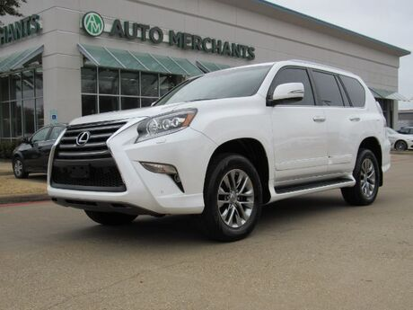 2017 Lexus GX 460 LUXURY 4.6L 8CYL AUTOMATIC, 4WD, LEATHER SEATS, SUNROOF, NAVIGATION, BLIND SPOT MONITOR, BACKUP CAM Plano TX