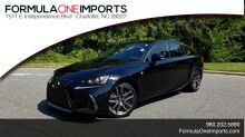 2017_Lexus_IS_200T F-SPORT / SUNROOF / CAMERA / BSM_ Charlotte NC