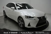 Lexus IS 200t CAM,SUNROOF,CLMT STS,18IN WHLS 2017