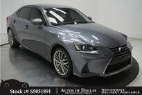 Lexus IS 200t CAM,SUNROOF,KEY-GO,18IN WHLS 2017