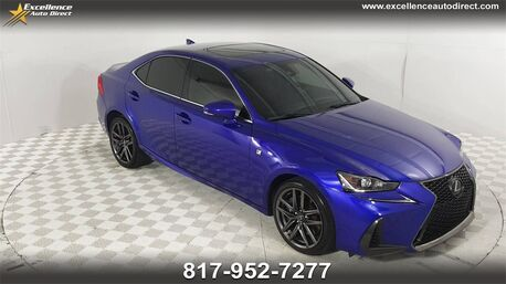 2017_Lexus_IS_200t F SPORT PACKAGE,BACK UP CAMERA, CRUISE CONTROL ,BL_ Euless TX