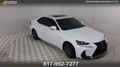 2017_Lexus_IS_200t F-SPORT ,PADDLE SHIFTER,BLIND SPOT,SUNROOF,NAV,BCK_ Euless TX