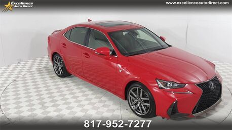 2017_Lexus_IS_200t F-SPORT,PADDLE SHIFTER,BLIND SPOT,SUN/NAV/BCK-CAM._ Euless TX