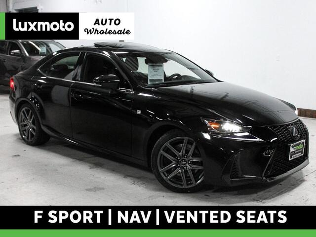 2017 Lexus IS 200t F Sport Nav Vented Seats Back-Up Camera Portland OR