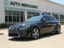 2017_Lexus_IS_200t NAV, SUNROOF, HTD/COOLED STS, BACKUP CAM, PUSH BUTTON, BLUETOOTH, BLIND SPOT, LEATHER_ Plano TX