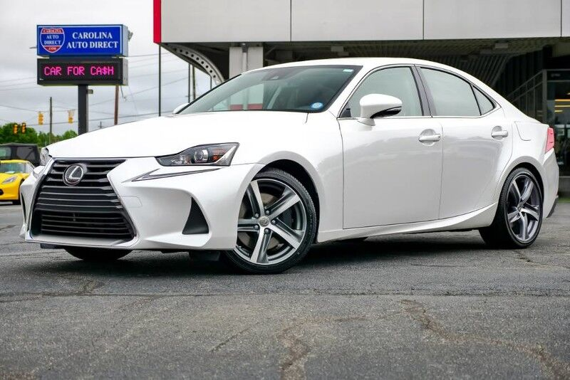 2017 Lexus IS 300 AWD w/ Heated & Vented Front Seats + Blind Spot Monitor Mooresville NC