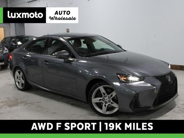 2017_Lexus_IS 350_F Sport AWD 19k Mi Nav Vented Seats Back-Up Cam_ Portland OR