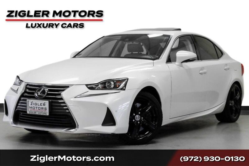 2017 Lexus IS IS 200t Turbo Luxury One Owner Backup Camera Heated/Cooled Seat Addison TX