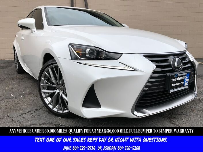 2017 Lexus IS IS Turbo F Sport Salt Lake City UT
