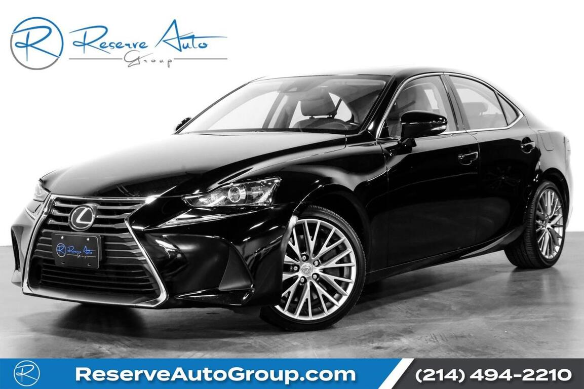 2017 Lexus IS IS Turbo Moonroof BackUp Cam Alloys The Colony TX