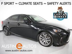 2017_Lexus_IS Turbo F Sport_*BLIND SPOT ALERT, COLLISION ALERT w/BRAKING, LANE DEPARTURE ALERT, ADAPTIVE CRUISE, BACKUP-CAMERA, MOONROOF, CLIMATE SEATS, BLUETOOTH_ Round Rock TX