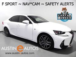 2017_Lexus_IS Turbo F Sport_*NAVIGATION, BLIND SPOT ALERT, COLLISION & LANE DEPARTURE ALERT, SCOUT GPS, ADAPTIVE CRUISE, BACKUP-CAMERA, MOONROOF, CLIMATE SEATS, BLUETOOTH_ Round Rock TX