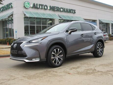 2017 Lexus NX 200t F SPORT, LEATHER SEATS, SUNROOF, NAVIGATION, BLIND SPOT MONITOR, BACKUP CAMERA, HEATED FRONT SEATS Plano TX