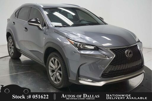 2017_Lexus_NX_200t F Sport BACK-UP CAMERA,KEY-GO,18IN WHLS_ Plano TX
