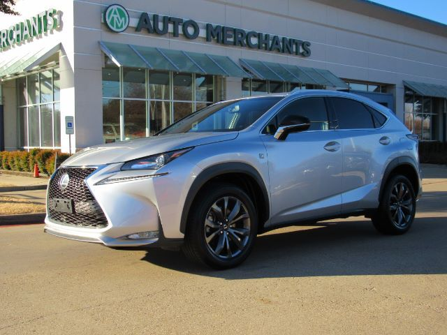 2017 Lexus NX 200t FWD ***F SPORT PACKAGE***  2.0L 4CYL TURBOCHARGED, AUTOMATIC, LEATHER SEATS Plano TX