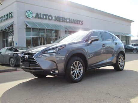 2017 Lexus NX 200t FWD  LEATHERETTE SEATS, BACKUP CAMERA, HEATED FRONT SEATS, FOG LAMPS, BLUETOOTH CONNECTIVITY Plano TX