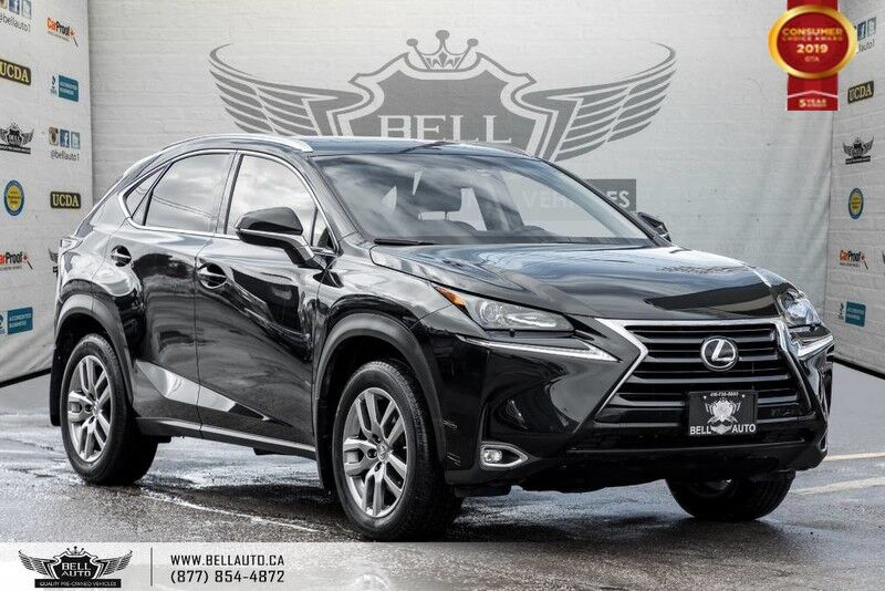 2017 Lexus NX 200t NO ACCIDENT, AWD, REAR CAM, B.SPOT, SUNROOF, COOLED SEAT