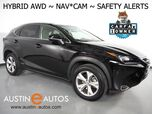 2017 Lexus NX 300h AWD Hybrid *NAVIGATION, PRE-COLLISION w/BRAKING, BLIND SPOT ALERT, ADAPTIVE CRUISE, BACKUP-CAM, MOONROOF, CLIMATE SEATS, POWER LIFTGATE, INTUITIVE PARK ASSIST, BLUETOOTH