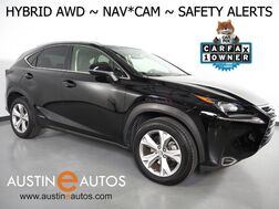 2017_Lexus_NX 300h AWD Hybrid_*NAVIGATION, PRE-COLLISION w/BRAKING, BLIND SPOT ALERT, ADAPTIVE CRUISE, BACKUP-CAM, MOONROOF, CLIMATE SEATS, POWER LIFTGATE, INTUITIVE PARK ASSIST, BLUETOOTH_ Round Rock TX