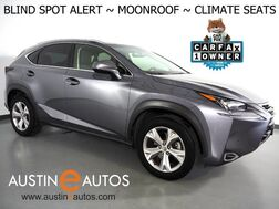 2017_Lexus_NX Turbo_*BLIND SPOT ALERT, BACKUP-CAMERA, MOONROOF, CLIMATE SEATS, INTUITIVE PARK ASSIST, POWER LIFTGATE, SATELLITE RADIO, BLUETOOTH PHONE & AUDIO_ Round Rock TX