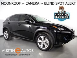 2017_Lexus_NX Turbo_*BLIND SPOT ALERT, BACKUP-CAMERA, SCOUT GPS, MOONROOF, CLIMATE SEATS, INTUITIVE PARK ASSIST, POWER LIFTGATE, BLUETOOTH PHONE & AUDIO_ Round Rock TX