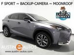 2017 Lexus NX Turbo F Sport *BACKUP-CAMERA, BLIND SPOT ALERT, MOONROOF, HEATED SEATS, POWER LIFTGATE, INTUITIVE PARKING ASSIST, BLUETOOTH PHONE & AUDIO
