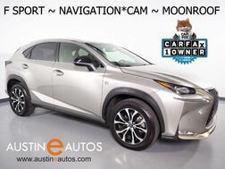 2017_Lexus_NX Turbo F Sport_*NAVIGATION, BLIND SPOT ALERT, BACKUP-CAMERA, MOONROOF, HEATED SEATS, POWER LIFTGATE, INTUITIVE PARK ASSIST, BLUETOOTH PHONE & AUDIO_ Round Rock TX