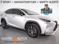 2017_Lexus_NX Turbo F Sport_*NAVIGATION, COLLISION ALERT w/BRAKING, ADAPTIVE CRUISE, BLIND SPOT ALERT, BACKUP-CAMERA, MOONROOF, CLIMATE SEATS, POWER LIFTGATE, LED HEADLAMPS_ Round Rock TX