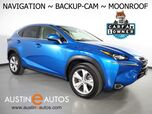 2017 Lexus NX Turbo *NAVIGATION, BLIND SPOT ALERT, BACKUP-CAMERA, MOONROOF, CLIMATE SEATS, INTUITIVE PARK ASSIST, POWER LIFTGATE, BLUETOOTH PHONE & AUDIO