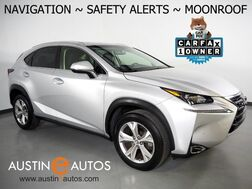 2017_Lexus_NX Turbo_*NAVIGATION, COLLISION ALERT w/BRAKING, ADAPTIVE CRUISE, BLIND SPOT ALERT, BACKUP-CAMERA, MOONROOF, CLIMATE SEATS, POWER LIFTGATE, BLUETOOTH AUDIO_ Round Rock TX