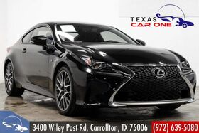 2017_Lexus_RC 200t_F SPORT NAVIGATION BLIND SPOT ASSIST INTUITIVE PARK ASSIST SUNRO_ Carrollton TX