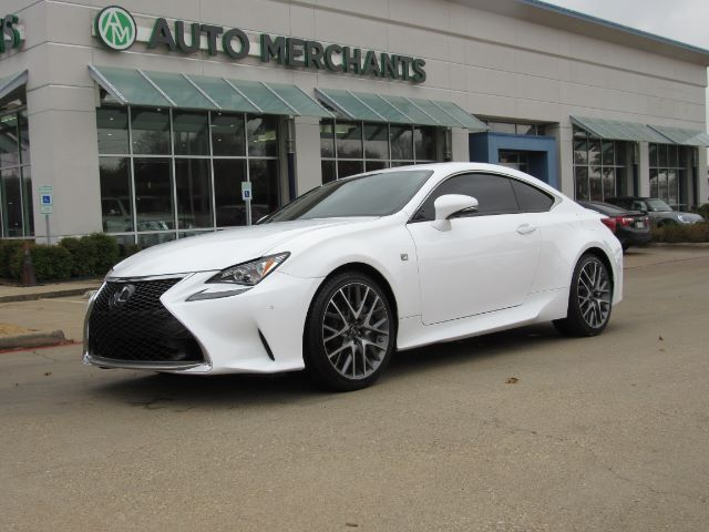 2017 Lexus RC 200t F SPORT,RED INTERIOR, HEATED AND COOLED SEATS,BACKUP CAMERA, BLUETOOTH CONNECTIVITY,SUNROOF Plano TX