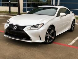 2017_Lexus_RC 200t_TURBO SUNROOF LEATHER SEATS REAR CAMERA WITH REAR PARKING AID KEYLESS START BLUETOOTH SHIFTER PADDLES DUAL CLIMATE CONTROL DUAL POWER SEATS_ Addison TX