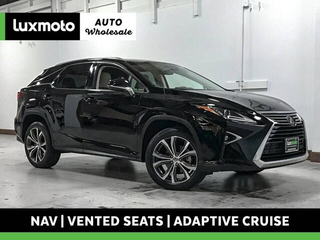 2017 Lexus RX 350 AWD 19k Mi Nav Vented Seats Blind Spot Assist Portland OR