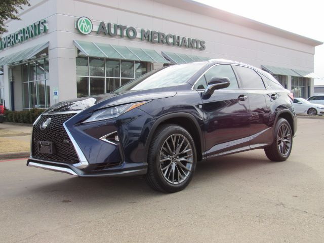 2017 Lexus RX 350 AWD F SPORT  NAVIGATION, BACK-UP CAMERA, BLIND SPOT MONITOR,HEATING AND COOLING FRONT SEATS, SUNROOF Plano TX