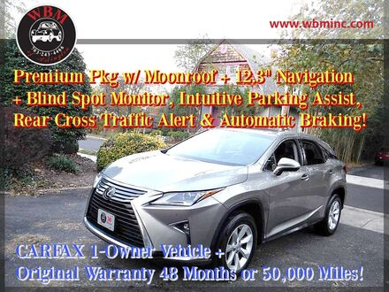 2017_Lexus_RX 350_AWD w/ Premium Package_ Arlington VA