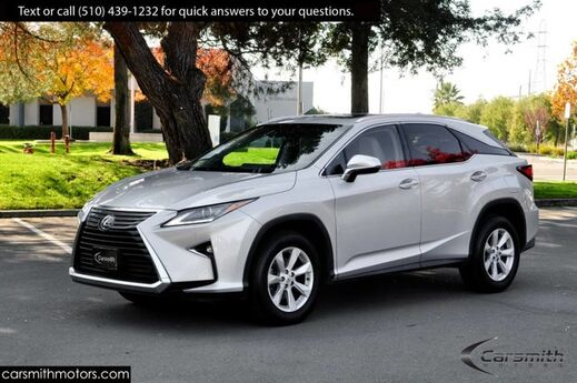 2017 Lexus RX 350 AWD with Blind Spot/Cross Traffic/Auto Braking MSRP $53,774 Cold Weather Pkg/Navigation/CPO to 100K Fremont CA
