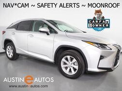 2017_Lexus_RX 350_*NAVIGATION, BLIND SPOT ALERT, LANE DEPARTURE ALERT, COLLISION ALERT w/BRAKING, ADAPTIVE CRUISE, MOONROOF, CLIMATE SEATS, BACKUP-CAMERA, POWER LIFTGATE, BLUETOOTH_ Round Rock TX