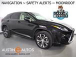 2017 Lexus RX 350 *NAVIGATION, BLIND SPOT ALERT, LANE DEPARTURE ALERT, COLLISION ALERT w/BRAKING, ADAPTIVE CRUISE, MOONROOF, CLIMATE SEATS, BACKUP-CAMERA, POWER LIFTGATE, BLUETOOTH