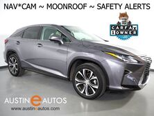 Lexus RX 350 *NAVIGATION, BLIND SPOT ALERT, LANE DEPARTURE ALERT, COLLISION ALERT w/BRAKING, ADAPTIVE CRUISE, MOONROOF, CLIMATE SEATS, BACKUP-CAMERA, POWER LIFTGATE, BLUETOOTH 2017