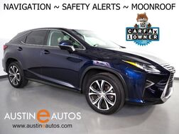 2017_Lexus_RX 350_*NAVIGATION, BLIND SPOT & LANE DEPARTURE ALERT, COLLISION ALERT, ADAPTIVE CRUISE, BACKUP-CAMERA, MOONROOF, LEATHER, CLIMATE SEATS, POWER LIFTGATE, BLUETOOTH_ Round Rock TX