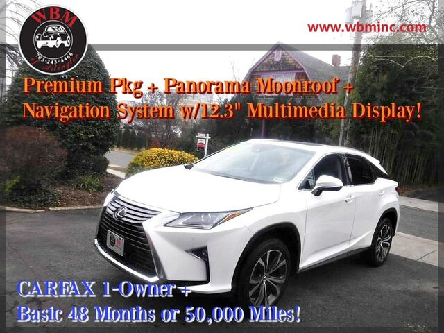 2017 Lexus RX 350 w/ Luxury Package Arlington VA