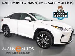 2017_Lexus_RX 450h AWD Hybrid_*NAVIGATION, BLIND SPOT ALERT, LANE DEPARTURE ALERT, COLLISION ALERT w/BRAKING, ADAPTIVE CRUISE, MOONROOF, CLIMATE SEATS, BACKUP-CAMERA, POWER LIFTGATE, BLUETOOTH_ Round Rock TX